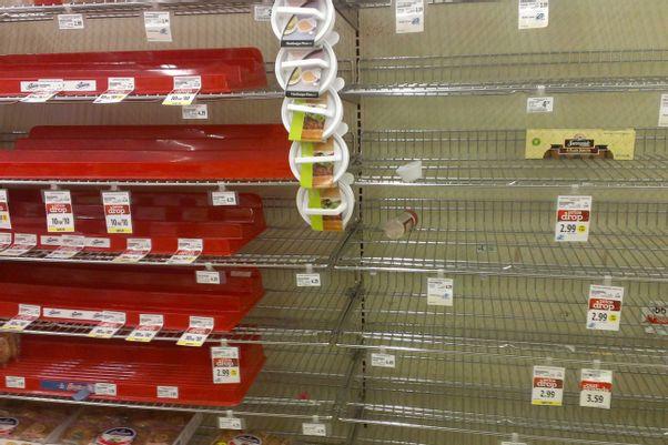 supermarkt-leer