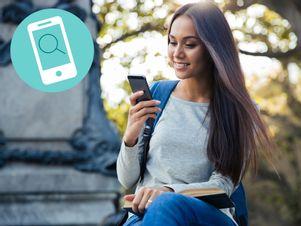 einfache-jobsuche-frau-sucht-jobs-am-smartphone