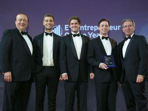 hokify bei der Preisverleihung vom EY Entrepreneur of the Year Award 2016